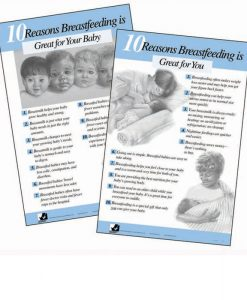 Great Reasons to breastfeed charts